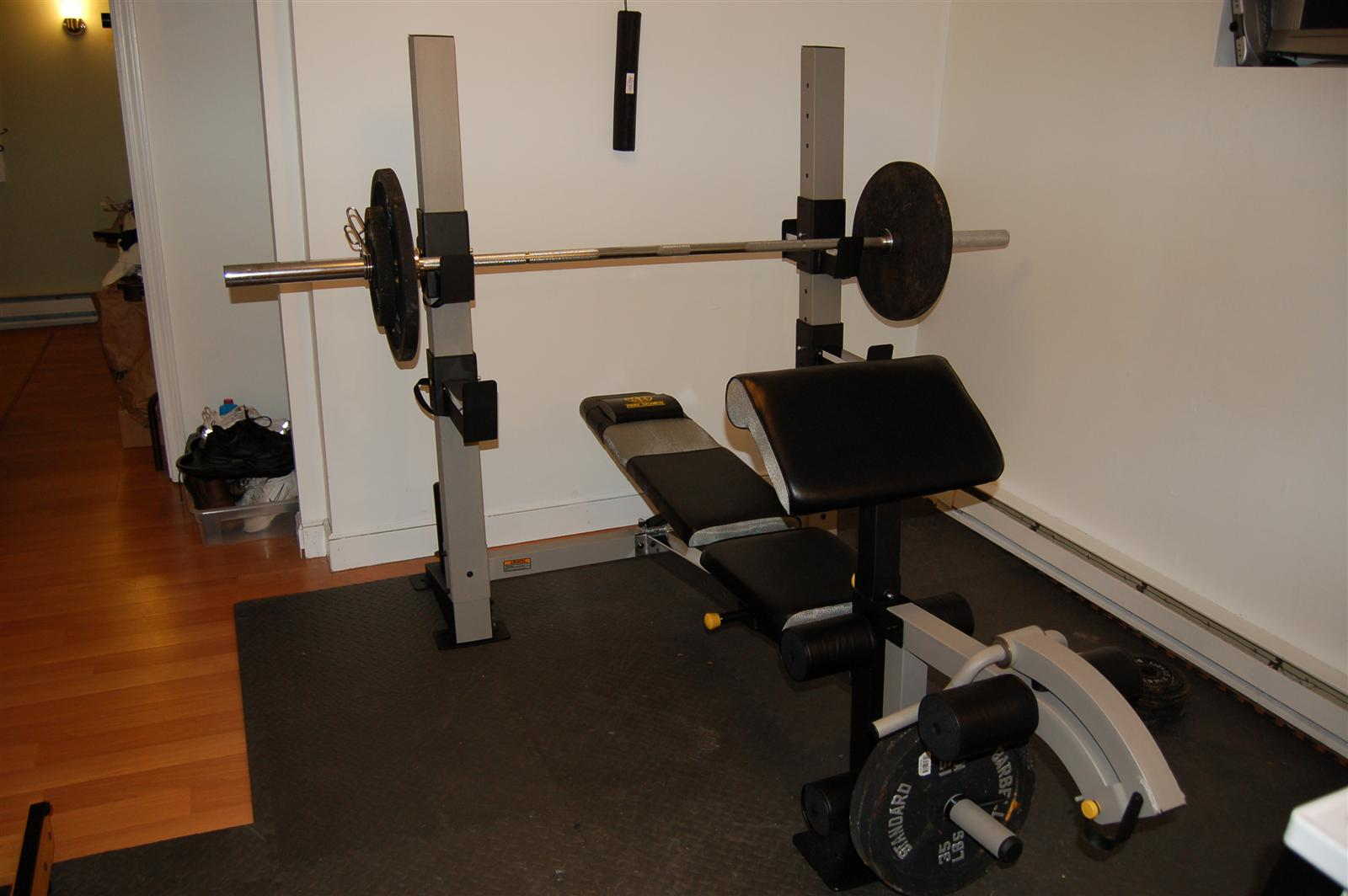 I Already Brought My Rowing Machine To The Apartment So Have Almost Everything Need Mounted Pull Up Bar In Bedroom Doorway And Using Ab