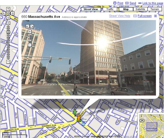 Google Maps Street View: Boston added – Raam Dev