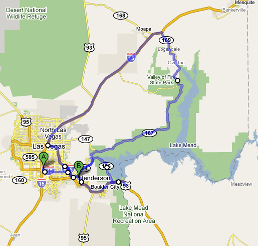 Vegas Lake Mead Valley Of Fire And Hoover Dam Raam Dev - Hoover dam on us map