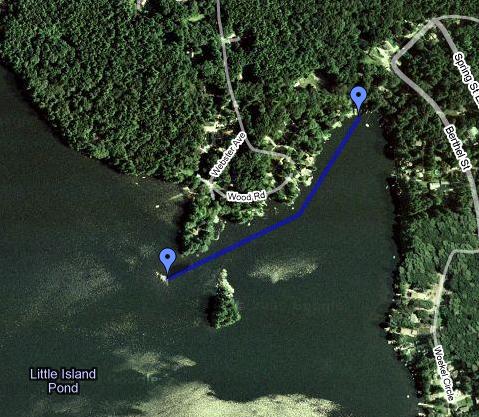 Swim Route