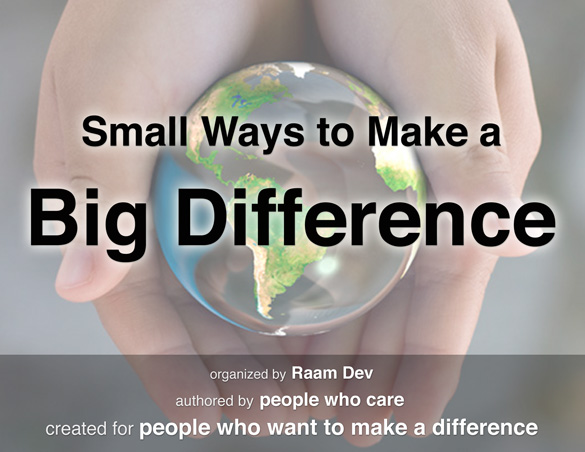 Small Ways to Make a Big Difference Cover