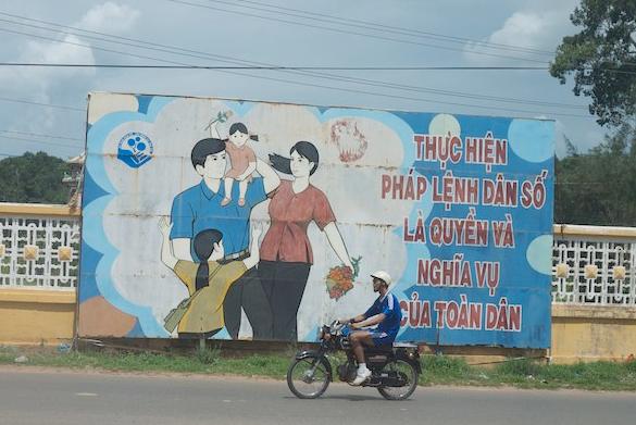 Family Billboard in Vietnam