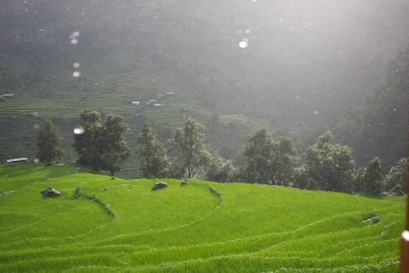 Raindrops of Change