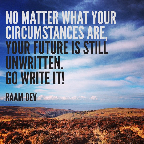 Quote Graphic by Emma Holmes: Your Future is Still Unwritten
