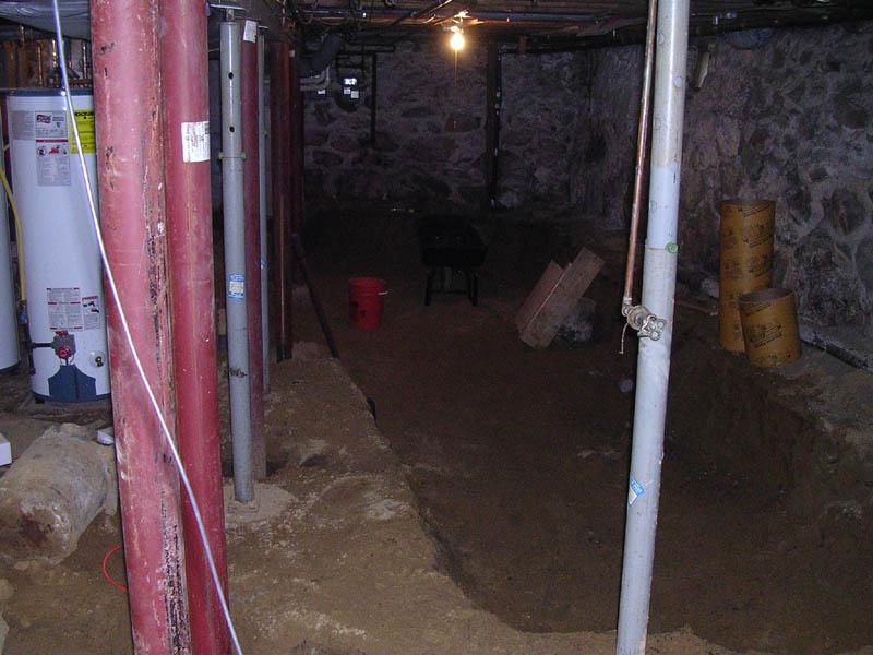 Renovating a 100 year old basement – Raam Dev