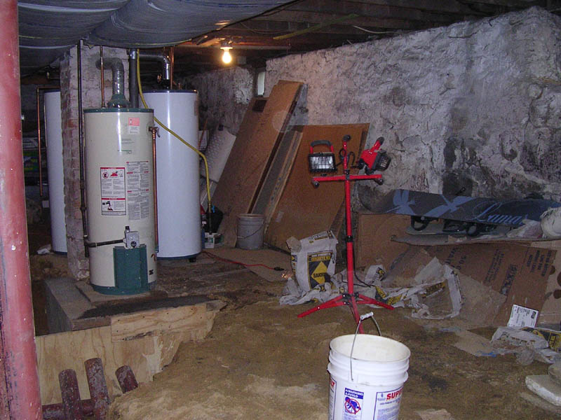 Renovating A 100 Year Old Basement Raam Dev