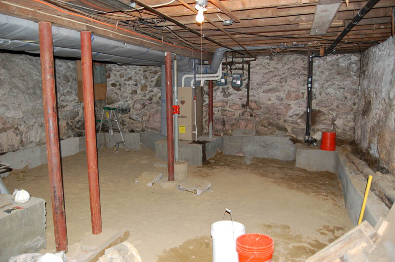 Renovating a 100 year old basement raam dev for Insulating basement floor before pouring