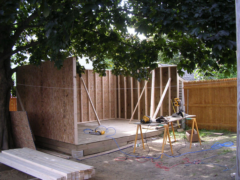 How To Build A Large Shed From Scratch, For - Zlatara-M