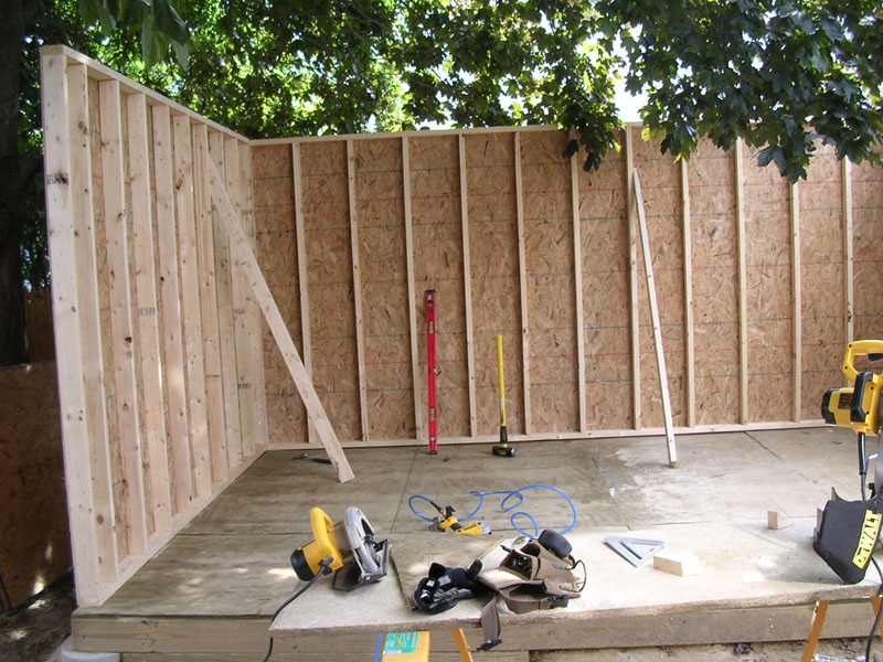 Tifany Blog: Now is How to build a shed from scratch